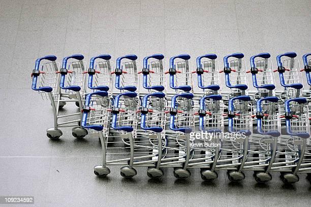 Luggage Trolleys - St Pancras Station