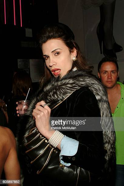 Lui Antinous attends AMANDA LEPORE DOLL After Party at Happy Valley on April 11 2006 in New York City