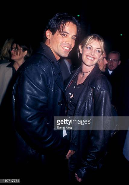 """Luigi Amodeo and guest during """"The Crucible"""" Los Angeles Premiere at AMPAS Goldwyn Theater in Beverly Hills, California, United States."""