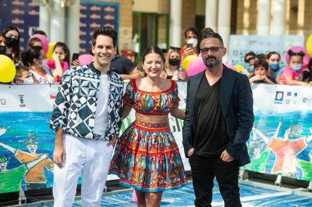 ITA: Giffoni Film Festival - Day 8 - Blue Carpet