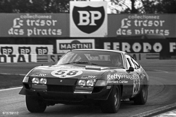 Luigi Chinetti Jr Ferrari 365 GTB/4 Daytona 24 Hours of Le Mans Le Mans 13 June 1971