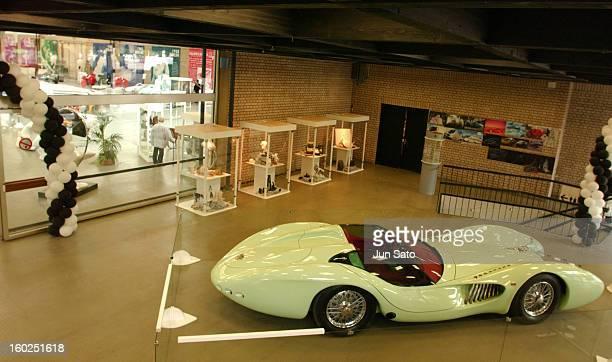 Luigi Colani Design Atmosphere during 50 Years Luigi Colani 'Futurama' Exhibition at Nancyhalle in Karlsruhe Germany