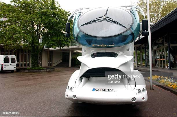 Luigi Colani Design DAF Aerodynamic Track Year 2000 Brussels in Belgeium
