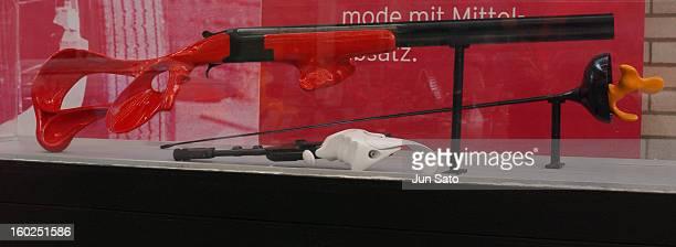Luigi Colani Design FM Belgium overunder Shotgun for Trap Shooting