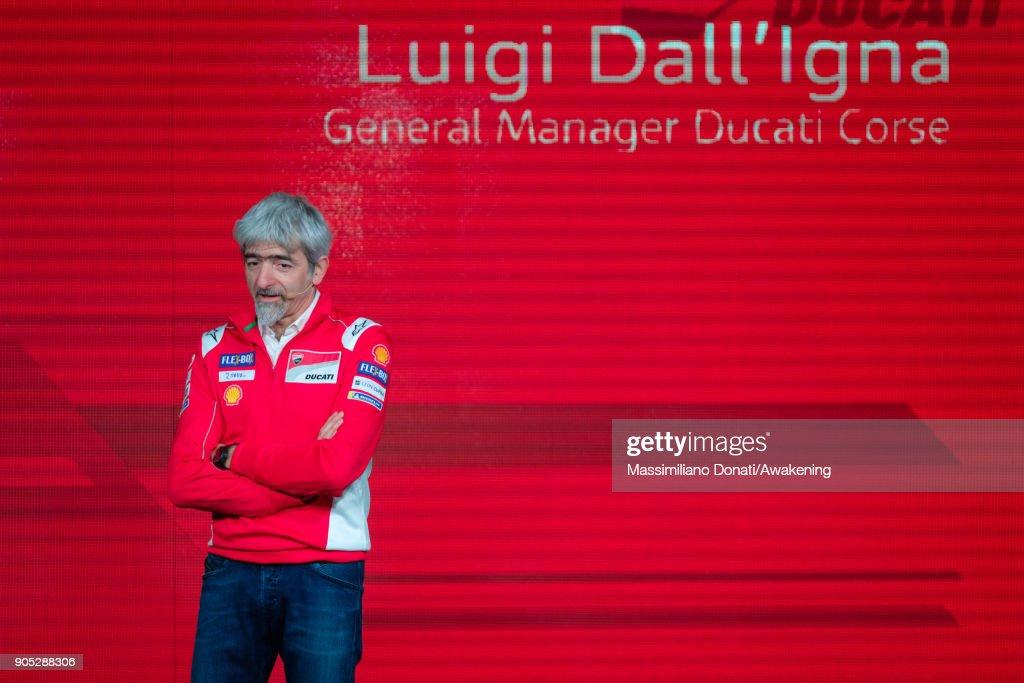 Presentation of the Ducati MotoGP team season 2018 : News Photo