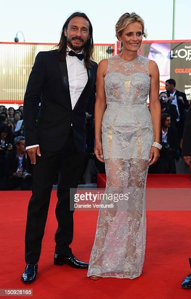 """Luigi De Laurentiis"" Venice Award for a Debut Film Jury members Bob Sinclar and Isabella Ferrari attends The Reluctant Fundamentalist premiere and..."