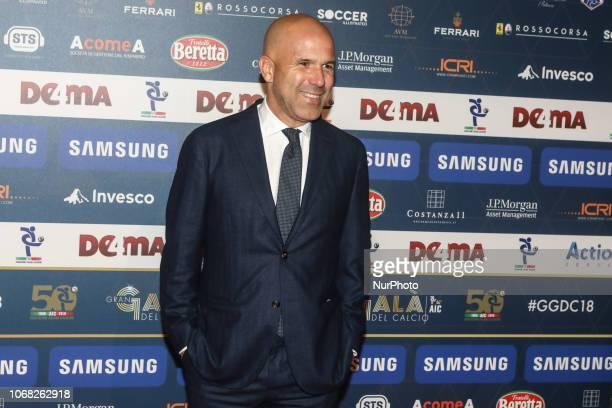Luigi Di Biagio at 'Oscar Del Calcio AIC' Italian Football Awards photocall in Milano, Italy, on December 03 2018