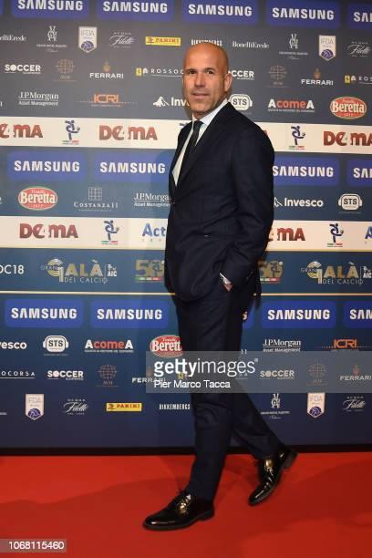 Luigi Di Biagio attends the 'Oscar Del Calcio AIC' Italian Football Awards on December 3, 2018 in Milan, Italy.