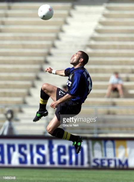Luigi Di Biagio of Inter Milan in action during the Serie A 33rd Round League match between Bari and Inter Milan played at the San Nicola Stadium...