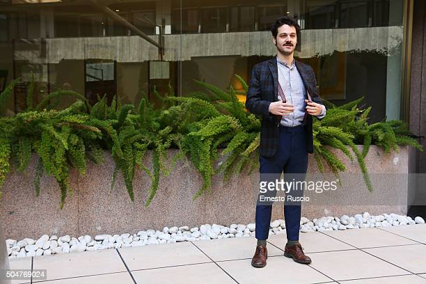 Luigi Di Capua attends a photocall for 'THE PILLS Sempre Meglio Che Lavorare' on January 13 2016 in Rome Italy