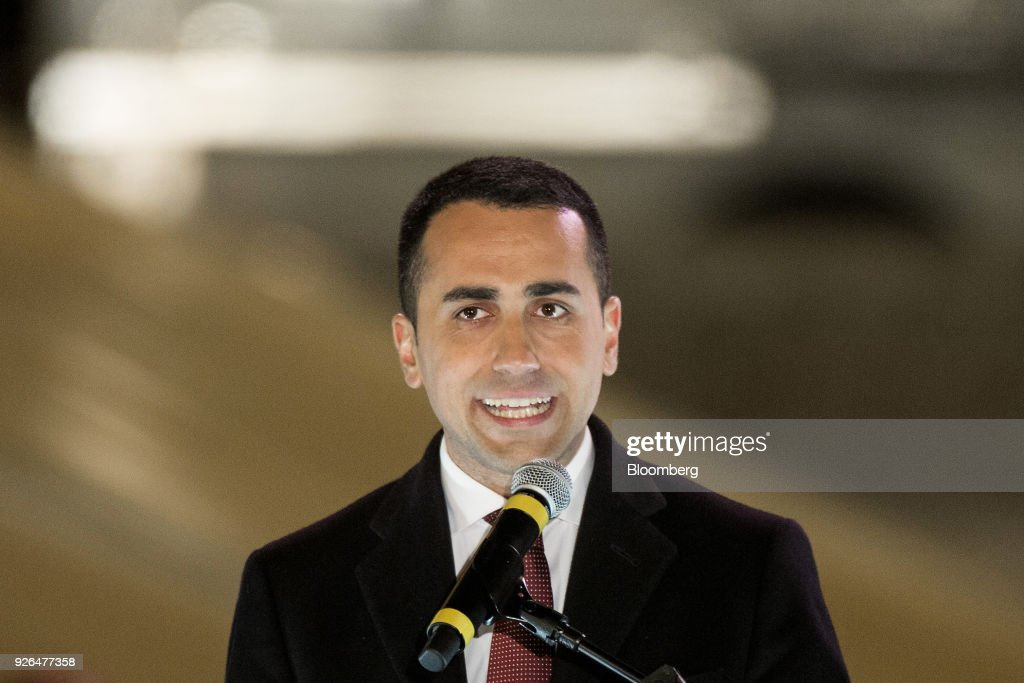 Five Star Movement Leader Luigi Di Maio Hosts Closing General Election Campaign Rally