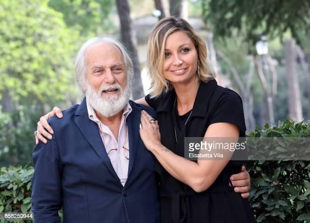 Luigi Diberti and Anna Ferzetti attends Alice Nella Citta' 2017 Presentation on October 6 2017 in Rome Italy