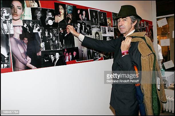 "Luigi D'Urso at Booksigning Of Paquita Paquin's ""Vingt Ans Sans Dormir"" ."
