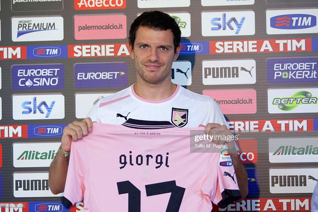 US Citta Di Palermo Unveils New Signing Luigi Giorgi