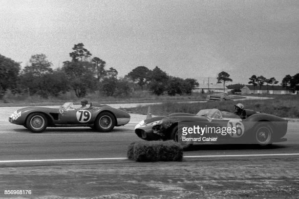 Luigi Musso Alfonso GomezMena Ferrari 250 Testa Rossa Ferrari 500 Testa Rossa 12 Hours of Sebring Sebring 22 March 1958