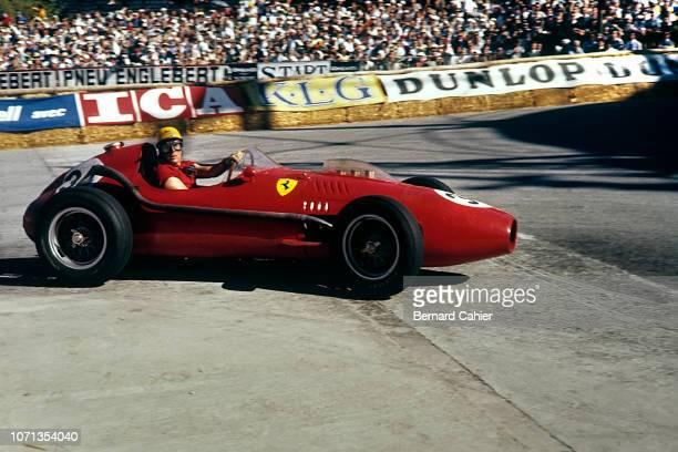 Luigi Musso Ferrari 246 Grand Prix of Monaco Circuit de Monaco 18 May 1958