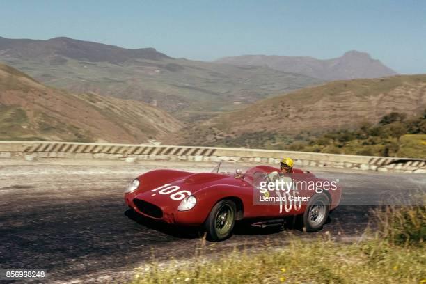 Luigi Musso Ferrari 250 Testa Rossa Targa Florio Sicily 05 November 1956