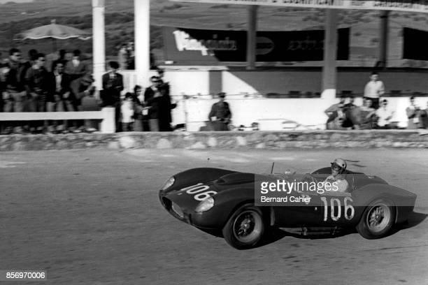 Luigi Musso Ferrari 250 Testa Rossa Targa Florio Sicily 05 November 1958