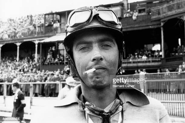 Luigi Musso Ferrari 801 Grand Prix of Great Britain Aintree 20 July 1957