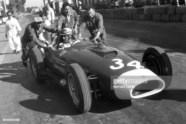 Luigi Musso Ferrari 801 Grand Prix of Pescara Pescara Circuit 18 August 1957