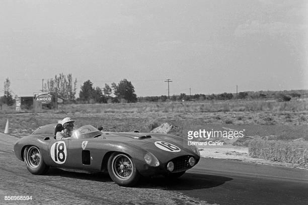 Luigi Musso Ferrari 860 Monza 12 Hours of Sebring Sebring 24 March 1956