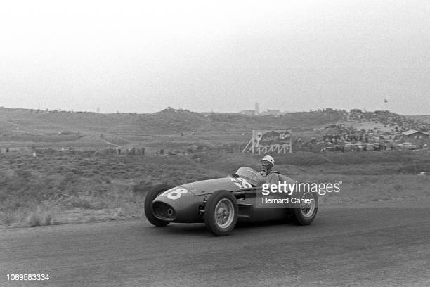 Luigi Musso Maserati 250F Grand Prix of the Netherlands Circuit Park Zandvoort 19 June 1955 Luigi Musso drove an outstanding race in the 1955 Dutch...