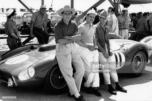 Luigi Musso Maurice Trintignan Peter Collins Ferrari 315S 12 Hours of Sebring Sebring 23 March 1957