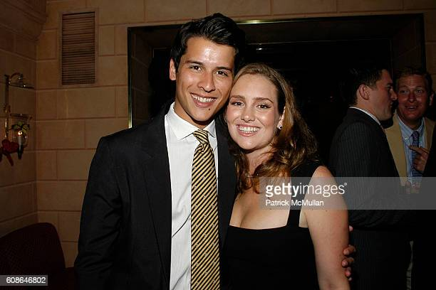 Luigi Tadini and Gillian HearstShaw attend Anne Hearst Jay McInerney Host An Engagement Party For GILLIAN HEARSTSHAW and CHRISTIAN SIMONDS at Doubles...
