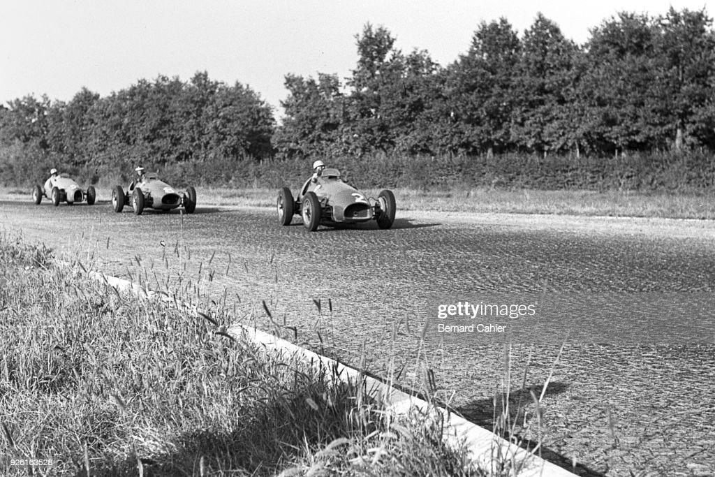 Luigi Villoresi, Mike Hawthorn, Grand Prix Of Italy : ニュース写真