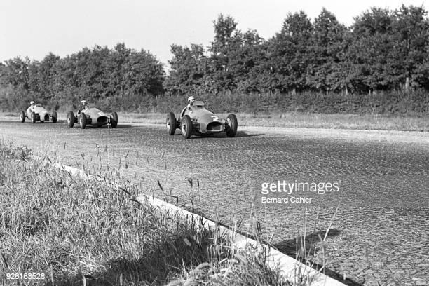 Luigi Villoresi, Mike Hawthorn, Ferrari 500, Grand Prix of Italy, Autodromo Nazionale Monza, 13 September 1953.