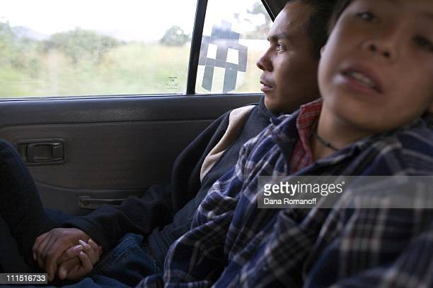 Luis Alberto age 17 takes a taxi to the Oaxaca airport where he will fly to Tijuana and attempt to illegally cross the border into the US to be with...