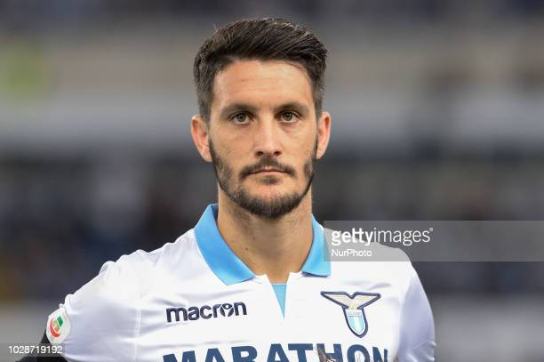 Luis Alberto during the Italian Serie A football match between SS Lazio and Frosinone at the Olympic Stadium in Rome on september 02 2018