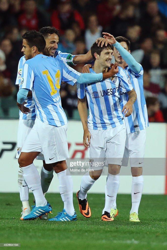 Adelaide United v Malaga CF