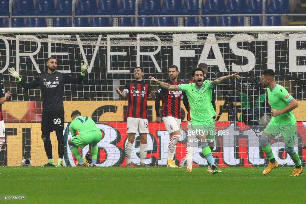 AC Milan v SS Lazio - Serie A : ニュース写真