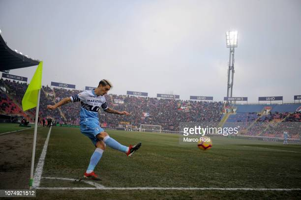 Luis Alberto of SS Lazio during the Serie A match between Bologna FC and SS Lazio at Stadio Renato Dall'Ara on December 26 2018 in Bologna Italy