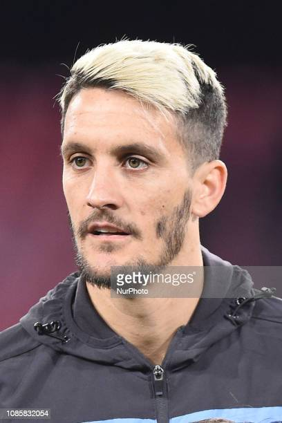 Luis Alberto of SS Lazio during the Serie A TIM match between SSC Napoli and SS Lazio at Stadio San Paolo Naples Italy on 20 January 2019