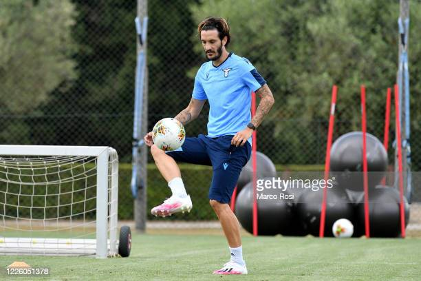 Luis Alberto of SS Lazio during the SS Lazio training session at the Formello center on May 20, 2020 in Rome, Italy.