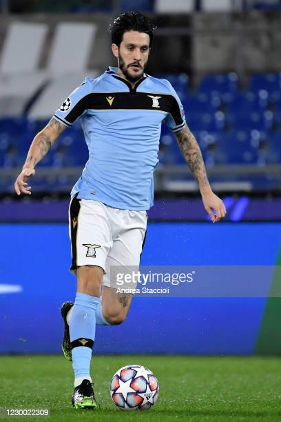 Luis Alberto of SS Lazio in action during the Champions League Group Stage F football match between SS Lazio and Club Brugge. SS Lazio and Club...