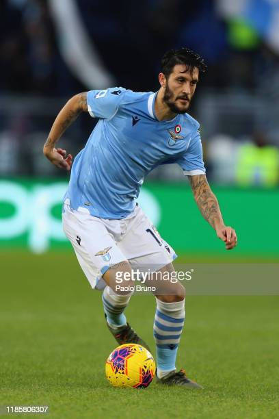 Luis Alberto of SS Lazio in action during the Serie A match between SS Lazio and Udinese Calcio at Stadio Olimpico on December 1 2019 in Rome Italy