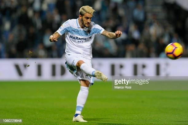 Luis Alberto of SS lazio in action during the UEFA Europa League Group H match between SS Lazio and Olympique de Marseille at Stadio Olimpico on...