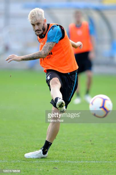 Luis Alberto of SS Lazio in action SS Lazio training session on October 17 2018 in Rome Italy