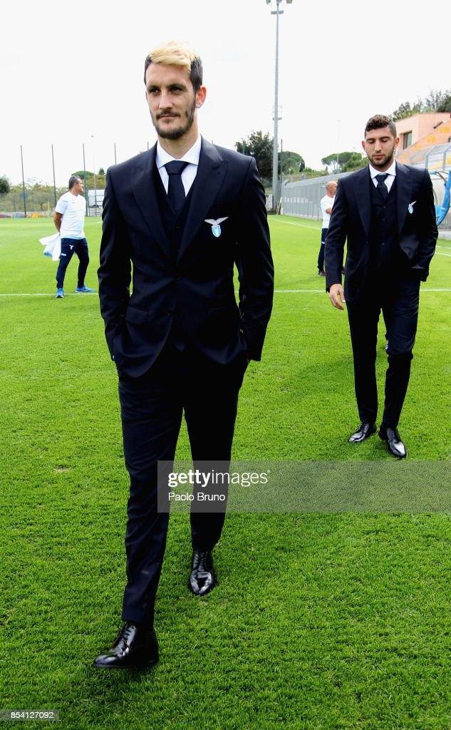 Luis Alberto of SS Lazio looks on during the official team photo on September 26, 2017 in Rome, Italy.