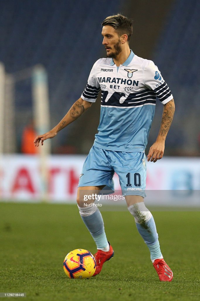 Luis Alberto Romero Alconchel During Coppa Italia 2018 2019 Match