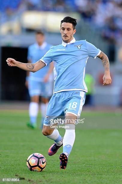 Luis Alberto SS Lazio in action during the Serie A match between SS Lazio and Bologna FC at Stadio Olimpico on October 16 2016 in Rome Italy