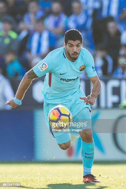 Luis Alberto Suarez Diaz of FC Barcelona in action during the La Liga 201718 match between CD Leganes vs FC Barcelona at Estadio Municipal Butarque...