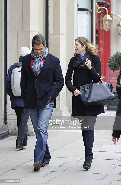 Luis Alfonso de Borbon and Margarita Vargas seen sighting on February 10 2011 in London England