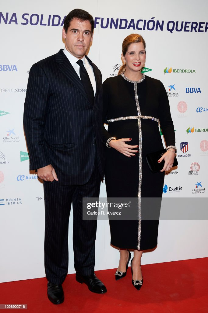 Querer Foundation Celebrates A Charity Dinner In Madrid : News Photo
