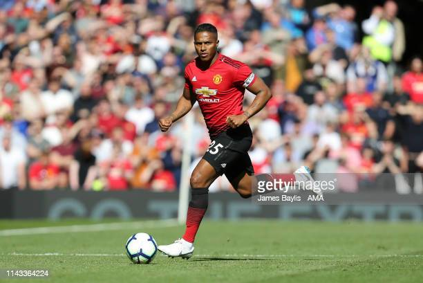 Luis Antonio Valencia of Manchester United during the Premier League match between Manchester United and Cardiff City at Old Trafford on May 12 2019...