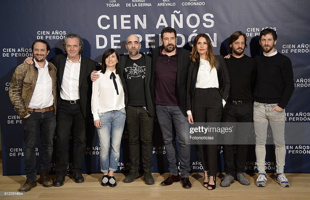 'Cien Anos De Perdon' Madrid Photocall