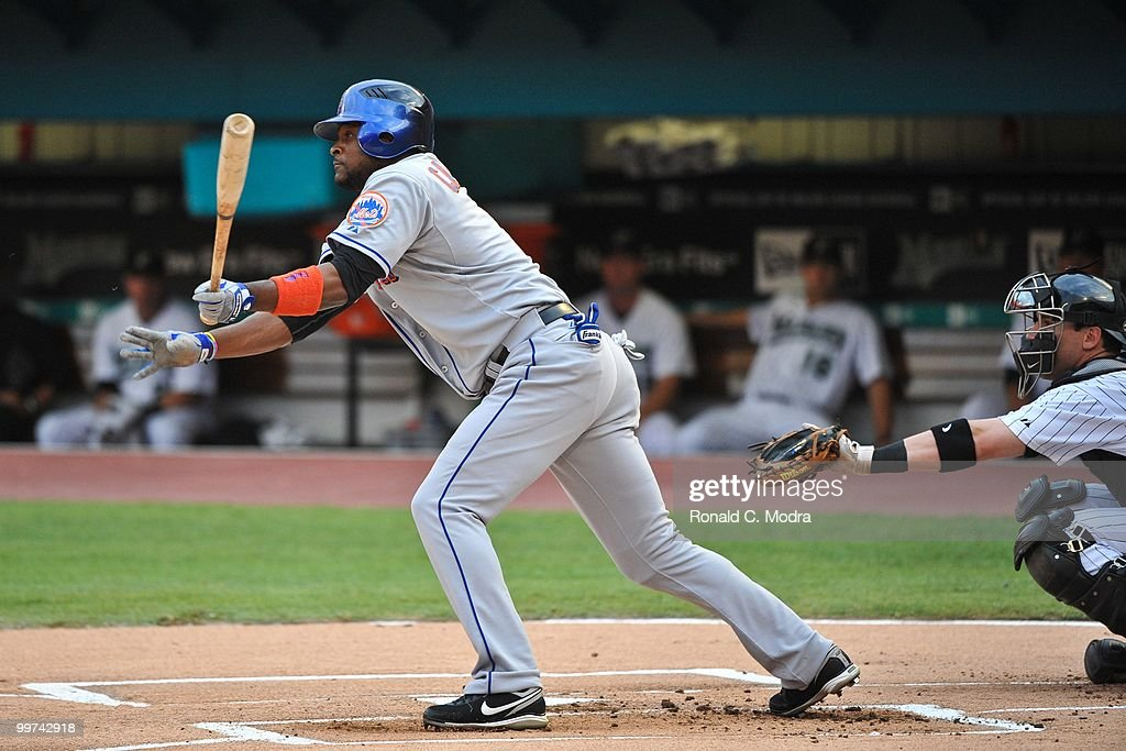 New York Mets v Florida Marlins : News Photo